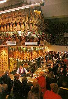 spanisches Essen in Spanien