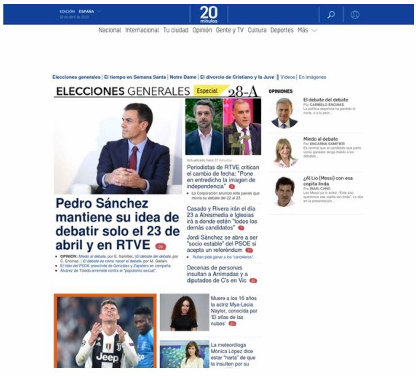 Spanische Zeitungen Online