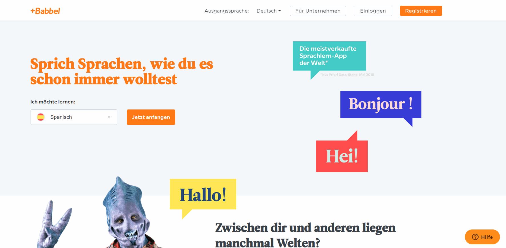 BABBEL TESTBERICHT ᐊ 2019 ᐅ – eine der beliebtesten Apps zum Sprachen lernen,