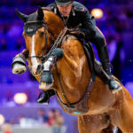Emanuele Gaudiano (ITA) reitet Chalou bei den - LONGINES FEI Jumping World Cup - LONGINES EQUITA LYON on November 3, 2019 in LYON, .