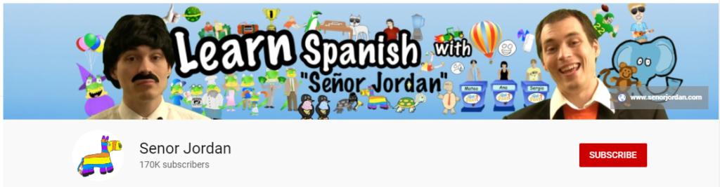 spanish youtube channel señor jordan